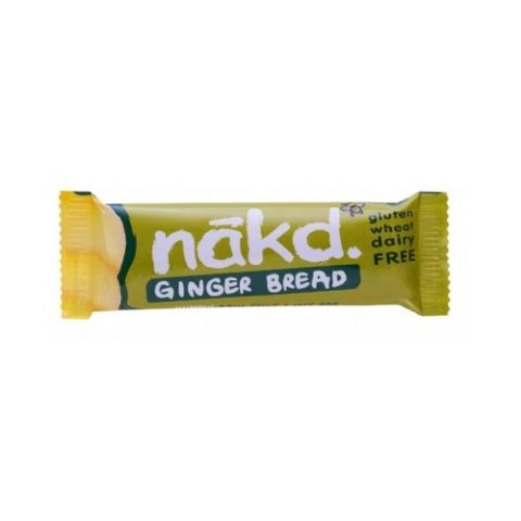 Ginger Bread Nakd Raw Fruit & Nuts Bars 35g